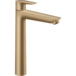 Talis E 240 Mitigeur de lavabo bronze brossé, avec tirette et vidage (71716140)