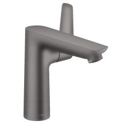 Talis E Mitigeur de lavabo 150 noir chromé brossé, avec tirette et vidage (71754340)