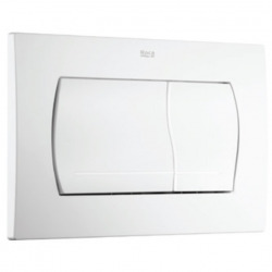 Plaque de commande ROCA ACTIVE 52-B double touche Blanc (A8901150B0)