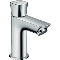 Logis 70 Robinet lave-mains eau froide sans tirette ni vidage, chromé (71120000)