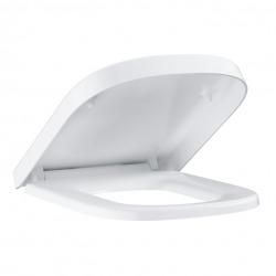 Euro Ceramic Siège abattant WC, blanc alpin (39330001)