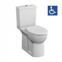Pack WC à poser PMR rehaussé Conforma sortie universelle (VitraConformaPMR)