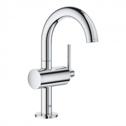 "Atrio Mitigeur monocommande, 1/2"" pour lavabo Taille M, Hard Graphite brossé (32043003)"