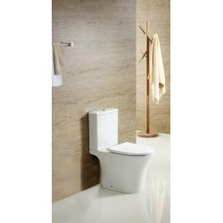 Combi WC à poser sans bride, avec abattant softclose - remplissage par le bas (SATBRE030RREXVP)