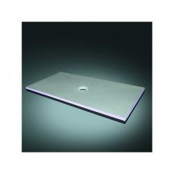 Receveur à carreler rectangulaire Aqua Centré 180x90 avec syphon horizontal (4504446 + 4504179)