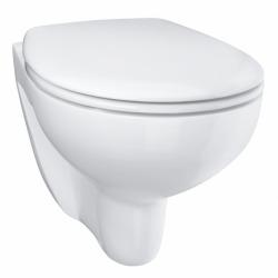 Pack Bâti-support ROCA ACTIVE + WC Grohe Bau Ceramic sans bride + abattant softclose + plaque blanche (RocaActiveBau-1)