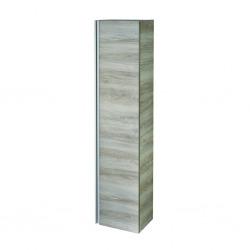 Armoire colonne Tesi 400 x 300 x 1700 mm finition bois naturel (T0054VI)