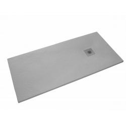 Receveur de douche rectangulaire Stone 120x80 cm marbre coulé, gris (SIKOSTONE12080SGR)