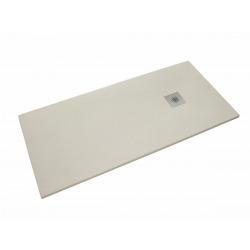 Receveur de douche rectangulaire Stone 120x80 cm marbre coulé, blanc (SIKOSTONE12080SB)