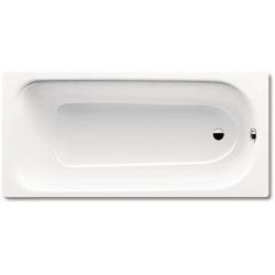 Baignoire rectangulaire Saniform Plus 170x75 cm acier émaillé, blanc alpin (112600010001)