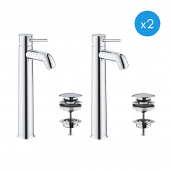 Start Classic Lot de 2 mitigeurs monocommande lavabo taille XL (23784000-SET)