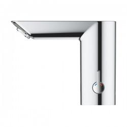 Bau Cosmopolitan E Lot de 2 mitigeurs lavabo infrarouge 1/2″ avec limiteur de température ajustable, Chromé (36451000-DUO)