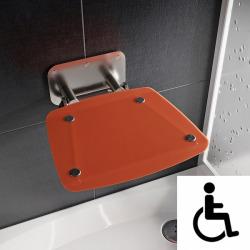 Ovo-B II-Orange siège de douche rabattable PMR pour cabine de douche (B8F0000053)