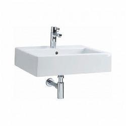 Twins Lavabo rectangulaire 60cm avec bassin, trou de robinet et débordement (L51160000)