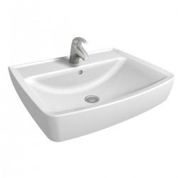 Rekord Lavabo de meubles 60cm, avec trou de robinet et débordement (K91962000)