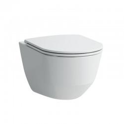 Pack WC suspendu sans bride, fixations cachées, abattant slim frein de chute (H8669570000001)