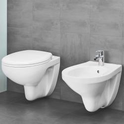 Bau Ceramic Ensemble WC suspendu sans bride + Abattant déclipsable (BauClassic)