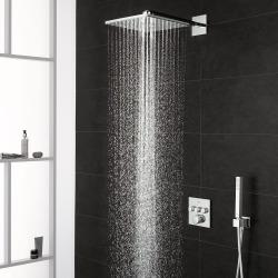 Grohtherm SmartControl Perfect set de douche avec Rainshower 310 SmartActive Cube + WashBall : anticalcaire offert (34706000)