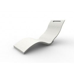 Serendipity - Chaise longue blanche (S010/9003)
