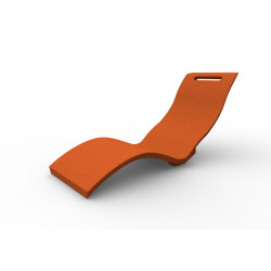 Serendipity - Chaise longue orange (S010/2009)