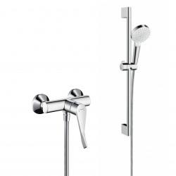 Pack Focus Care Mitigeur de douche avec poignée extra longue + Set de douche Crometta Vario (31916000-CROMETTA)