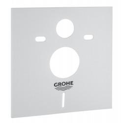 Grohe Pack WC Bâti-support Rapid SL + Plaque de Commande Skate Air Chrome + Fixations + Set d'isolation (38528001-2)