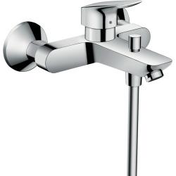 Pack Logis Mitigeur bain/douche C2 avec cartouche à 2 vitesses + Set de douche Crometta Vario (71401000-CROMETTA)
