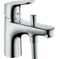 Pack Focus Mitigeur bain/douche C2 monotrou avec cartouche à 2 vitesses + Set de douche Crometta Vario (31938000-CROMETTA)