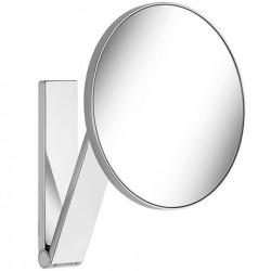 Miroir grossissant x5, forme ronde, fixation murale avec bras pivotant (17612010000)