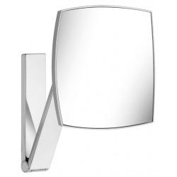 Miroir grossissant x5, forme carrée, fixation murale avec bras pivotant (17613010000)