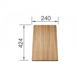 Planche à découper en frêne compound pour éviers Blanco (230700)