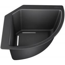 Cuvette d'angle pour éviers Blanco, Noir (235866)