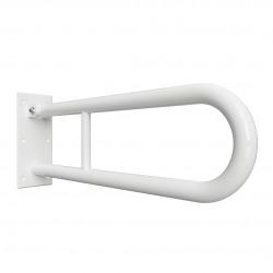 BEMETA HELP Barre de maintien relevable en forme de U en Comaxite 60x25cm, Blanc (301102074)