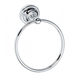 BEMETA Ricordi Porte-serviettes anneau en Laiton, Chrome (OPTIMARIC60CR)