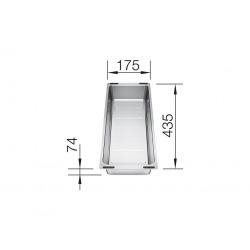 Vide-sauce multifonctions en Inox (227689)