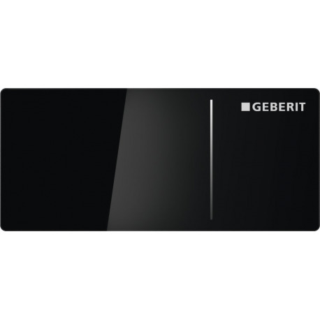 geberit plaque de d clenchement omega70 geberit noir 115. Black Bedroom Furniture Sets. Home Design Ideas