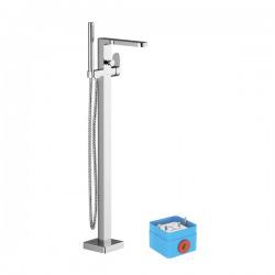 CR 080.00 Colonne mélangeur pour baignoire, Chrome (X070101)