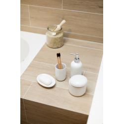 Daira Porte-savon en céramique, Blanc (DAI39BI)