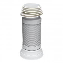 Pipe flexible d'évacuation pour WC 40-85cm (E945FLEX)