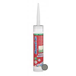 Mapesil AC Mastic 100% silicone, sans solvant, résistant aux moisissures, Gris Ciment (MAPS113)