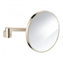 Selection Miroir cosmétique Grossissement x7 sans lumière, Nickel (41077BE0)