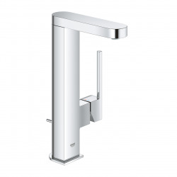 Plus Mitigeur monocommande lavabo taille L avec Limiteur de température, Chrome (23843003)