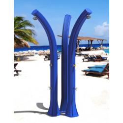 Douche solaire extérieure Happy XL avec rince pieds - Anthracite (H420/7016)