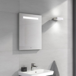 More To See One Miroir mural avec éclairage LED encastré, lumière naturelle, 45x60cm, Classe énergétique A+ (A430A800)