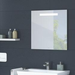 More To See One Miroir mural avec éclairage LED encastré, lumière naturelle, 60x60cm, Classe énergétique A+ (A430A600)