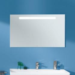 More To See One Miroir mural avec éclairage LED encastré, lumière naturelle, 100x60cm, Classe énergétique A+ (A430A400)