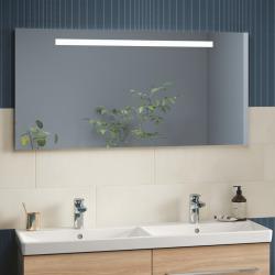 More To See One Miroir mural avec éclairage LED encastré, lumière naturelle, 140x60cm, Classe énergétique A+ (A430A100)