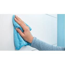 Moon Dérouleur de papier toilette sans couvercle en acier inoxydable mat, pose facile sans perçage (40301-00000-00)