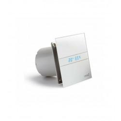 E100 GTH Ventilation mécanique contrôlée (VMC) simple flux, Détection d'humidité Hygrostat, Affichage numérique (00900200)