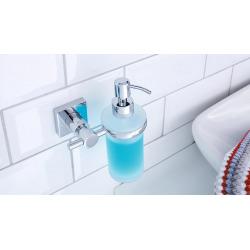 Hukk Distributeur de savon, métal chromé, pose facile sans perçage (40255-00000-00)